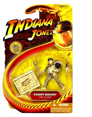 Indiana Jones Movie Hasbro Series 4 Action Figure Short Round (Temple of Doom)
