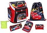 Scooli Schulranzen Set Campus Plus Disney Cars 2015