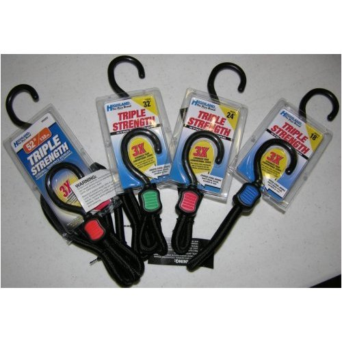 Master Lock 3022DAT Yellow Bungee Cord Pack of 2