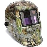 AUDEW Adjustable Auto Darkening Solar Welding Helmet Forest Camo CE ANSI Certified