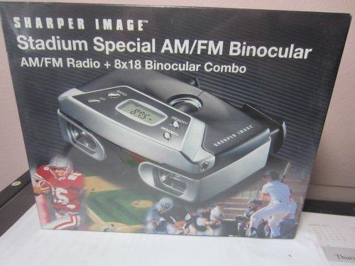 Sharper Image Stadium Am/Fm Radio Binocular 8X18 Ak310