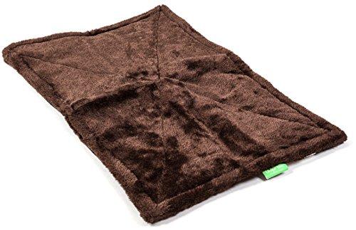 Unique Petz Self-Warming Comfort Pet Mat - Chocolate