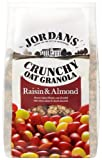 Jordans Crunchy Raisin and Almond Cereal 1 Kg (Pack of 2)