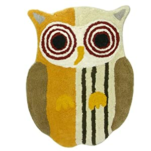 Allure Home Creations Hoot Bath Rug