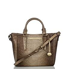 Mini Arno Tote<br>Sable Fashion Lizard