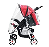 Simplicity Baby Waterproof Rain Cover Wind Shield Fit Most Strollers Pushchairs