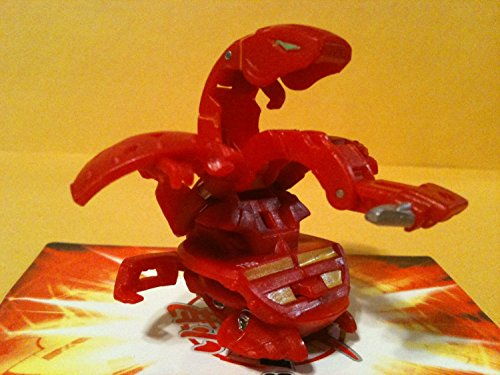 Bakugan Gundalian Invaders Pyrus (Red) Snapzoid 730G w/ DNA by Spin Master - 1