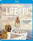 Life of Pi / L'histoire de Pi (Bilingual) [Blu-ray + DVD + Digital Copy]