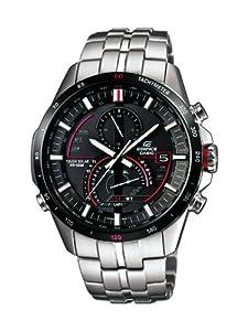Casio Herren-Armbanduhr XL Analog Quarz Edelstahl EQS-A500DB-1AVER