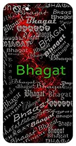 Bhagat (Devotee) Name & Sign Printed All over customize & Personalized!! Protective back cover for your Smart Phone : Samsung Galaxy S5 / G900I
