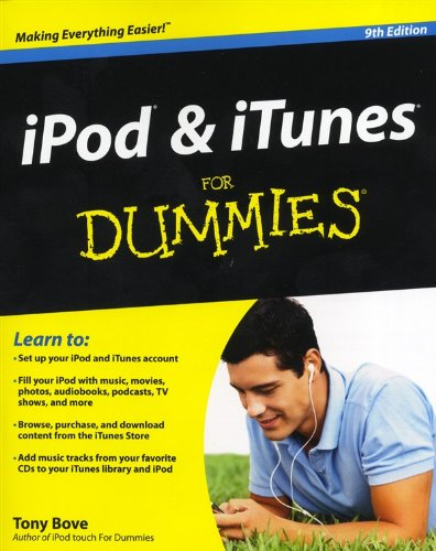 tony-bove-ipod-and-itunes-for-dummies-9th-edition