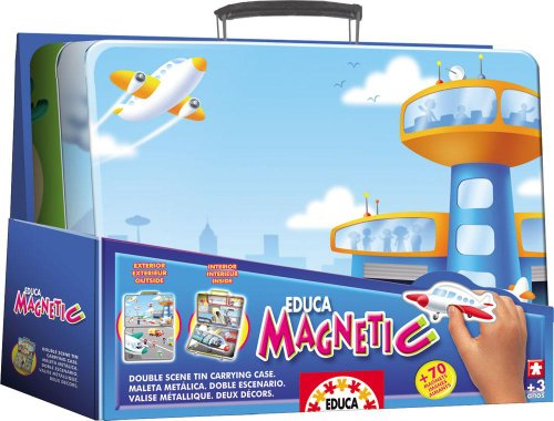 Educa Magnetic Play Scene - Airport