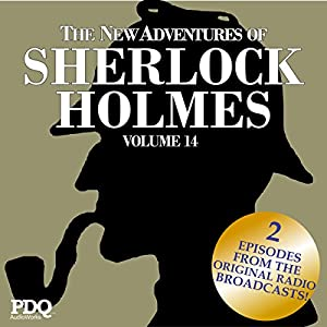 The New Adventures of Sherlock Holmes: The Golden Age of Old Time Radio Shows, Vol. 14 Radio/TV Program