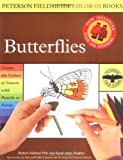 img - for Butterflies (Peterson Field Guide Color-In Books) book / textbook / text book