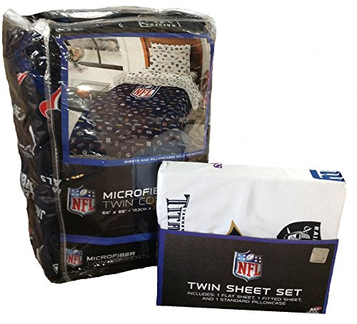 Nfl League All Teams Football Sports Bedding 4pc Twin Size