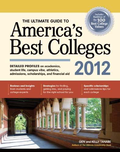 4bb9663bb7a The Ultimate Guide to America's Best Colleges 2012 - Harvard Book Store