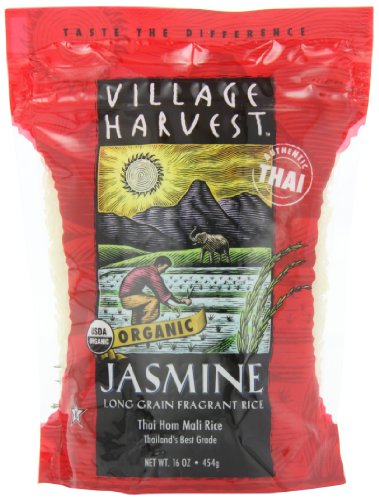Village Harvest Organic Thai Jasmine, 16-Ounce (Pack of 6) (Jasmine White Rice Organic compare prices)