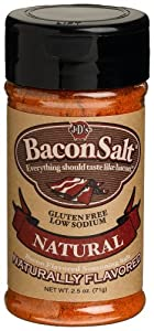J&D's Natural Bacon Salt, 2.5 Ounce