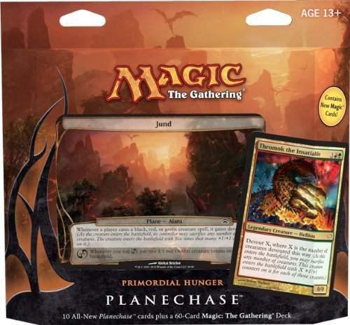 Imagen de Magic the Gathering-MTG: Planechase (2012 Edition) El hambre Primordial - Game Pack