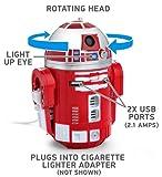 スターウォーズ R2-D9 USB 車載充電器 iPhon, iPad, Androido対応(並行輸入品)