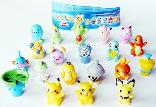 20 tolle Pokemon Figuren von Dolce Prezosi Plus Beipackzettel (Pokémon)