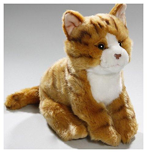 Katze braun aus Plüsch ca. 23cm von Carl Dick