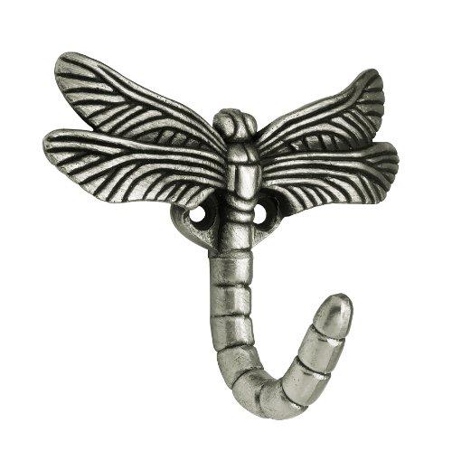 Brainerd B46145Y-BSP-CP Dragonfly Hook, Brushed Satin Pewter