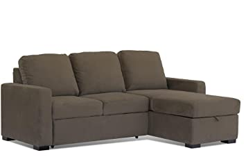 Lifestyle Solutions Chelsea Convertible Sofa in Mocha