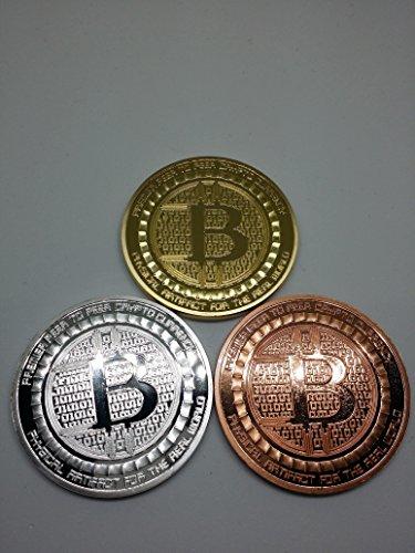 ビットコイン bitcoin 仮想通貨 3種類セット[新デザインB] [並行...