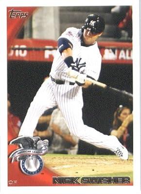 2010 Topps Update Baseball Card #US -127 Nick Swisher - New York Yankees (All Star Game) MLB Trading Card
