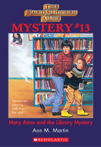 The Baby-Sitters Club Mystery #13: Mary Anne And The Library Mystery (The Baby-Sitters Club Mysteries) front-929639