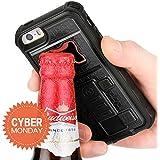 ZVE Multifunctional Cigarette Lighter Cover for Iphone 5 Built-in Cigarette Lighter/bottle Opener/ Camera Stable Tripod Case Black