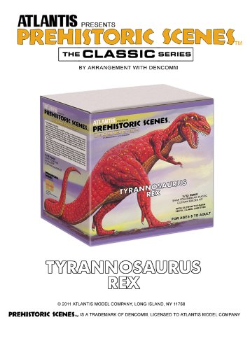 Prehistoric Scenes Giant Tyrannosaurus Rex 1/13 Atlantis Model Company