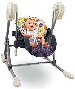 Fisher-Price Swing to High Chair, Mosaic (Discontinued by Manufacturer)