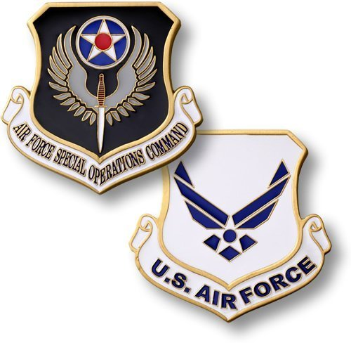 Air Force Special Operations Command Enamel