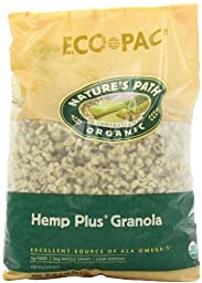 Nature\'s Path Organic Hemp Plus Granola, 26.4-Ounce Bags (Pack of 6)