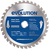 Evolution Power Tools 185BLADEST Steel Cutting Saw Blade, 7-1/4-Inch x 40-Tooth
