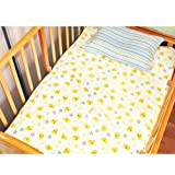 HuntGold Infant Baby Home Travel Cute Cotton Waterproof Urine Pad Mat Cover Changing Pad