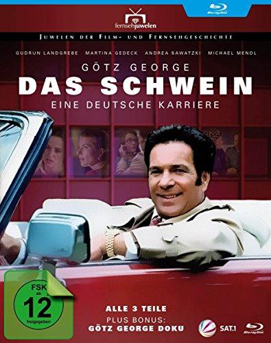 Das Schwein - Eine deutsche Karriere (plus Bonus: Götz George Doku) [Blu-ray]