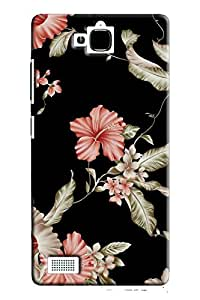 IndiaRangDe Case For Huawei Honor 3C (Printed Back Cover)