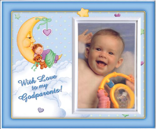 With Love to My Godparents (Boy) - Picture Frame Gift