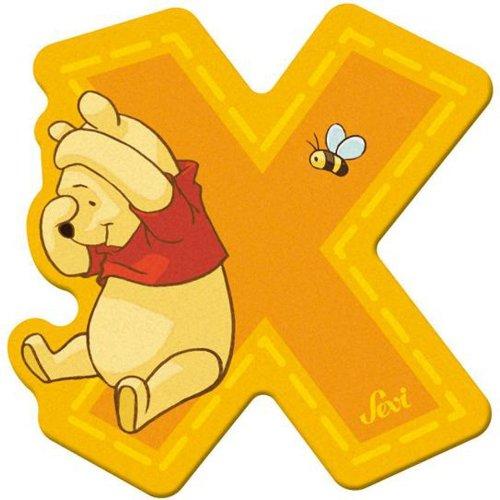 Sevi 82782 Klebebuchstabe X Winnie the Pooh