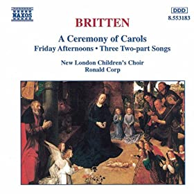 A Ceremony of Carols, Op. 28: Procession