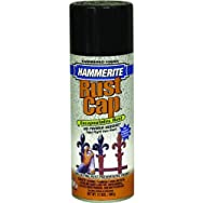 Hammerite Metal Spray Hammered Finish Spray Paint-RED HAMMERED SPRAY PAINT
