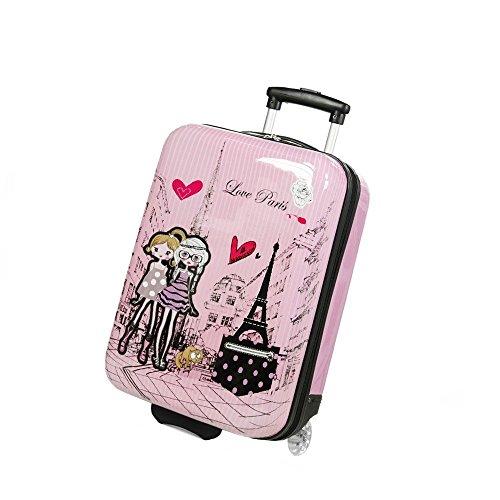madisson-valigia-rigida-cabina-kids-2-ruote-50-cm-rosa-rosato-f55018-love-paris