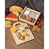 Chicago Cutlery 6-Piece Cheese Board Set ~ Chicago Cutlery
