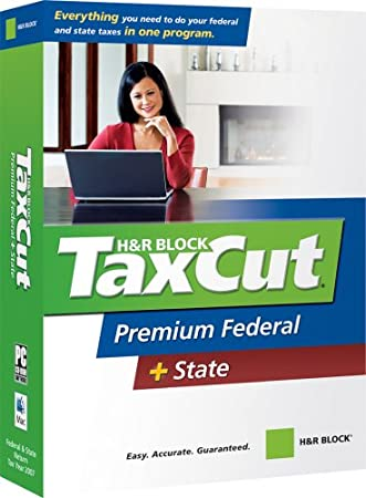 H&R Block TaxCut 2007 Premium Federal + State [OLD VERSION]