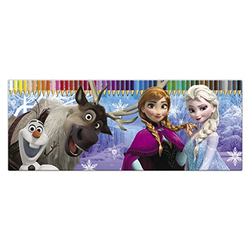 50 Piece Colouring Pencil Set And Tin By Disney Frozen