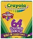 Crayola 64 Ct Short Colored Pencils K...