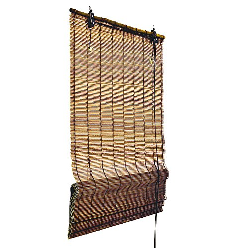 sol-royalr-bamboo-roman-shade-window-blind-60-cm-wide-160-cm-long-brown-privacy-screen-top-quality